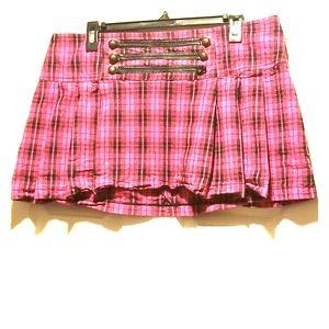 Sweet Love Size XLarge Plaid Skirt